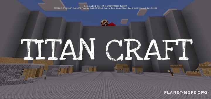 Мод Titan craft 1.10, 1.11