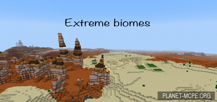 Сид Extreme Color and Biomes [1.10 & 1.11]